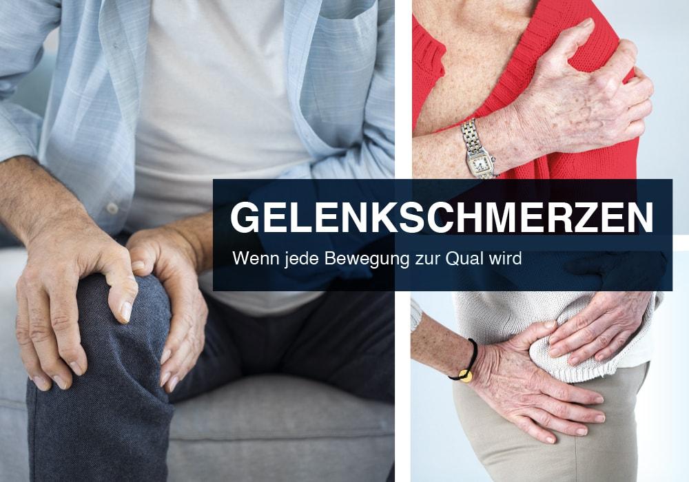 Gelenkschmerzen - Ursachen und Behandlung<